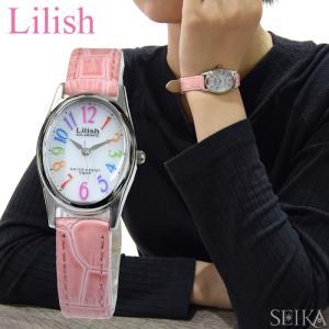 シチズン CITIZEN リリッシュ Lilish レディース 時計 (H007-906) ソーラー ピンク レザー|ryus-select