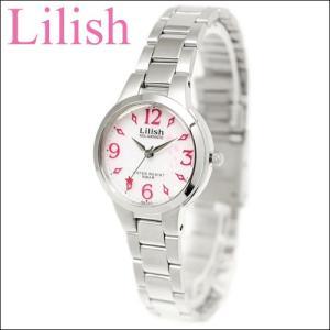 シチズン CITIZEN リリッシュ Lilish レディース 時計 (H027-902)ソーラー ホワイト ピンク シルバー 白い腕時計 ryus-select
