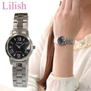 シチズン CITIZEN リリッシュ Lilish レディース 時計 (H039-901) ソーラー ブラック シルバー|ryus-select