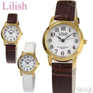 時計 シチズン CITIZEN リリッシュ LilishqH049 レディース 腕時計ソーラー レザー 全2色 白い腕時計|ryus-select