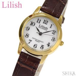 シチズン CITIZEN リリッシュ LilishH049-104 レディース 時計ソーラー ゴールド ブラウン レザー|ryus-select