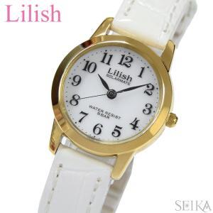 時計 シチズン CITIZEN リリッシュ LilishqH049-114 レディース ソーラー ゴールド ホワイト レザー 白い腕時計|ryus-select