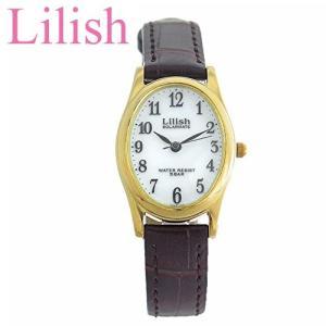 シチズン CITIZEN リリッシュ LilishqH053-104 レディース 時計ソーラー ゴールド ブラウン レザー|ryus-select