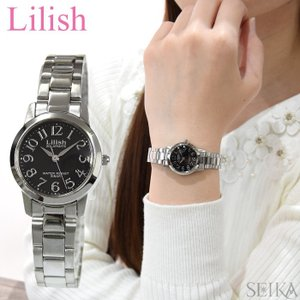 シチズン CITIZEN リリッシュ Lilish レディース 時計 (H997-902) ソーラー ブラック シルバー|ryus-select