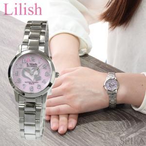 シチズン CITIZEN リリッシュ Lilish レディース 時計 (H997-904) ソーラー ピンク シルバー|ryus-select