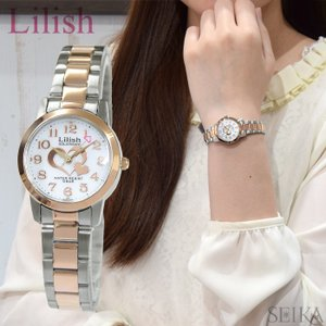 時計 シチズン CITIZEN リリッシュ Lilish レディース (H997-906) ソーラー ピンクゴールド×シルバー|ryus-select