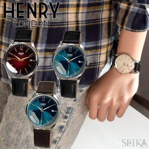 【当店ならお得クーポンあり】ヘンリーロンドン/時計 39mm/レザー/ウォッチ/ユニセックス|ryus-select