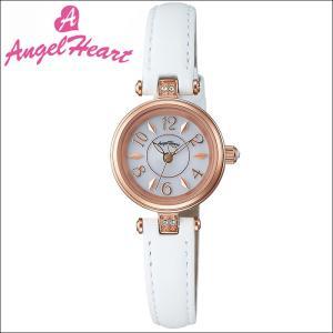(ショップ袋付)エンジェルハート Angel Heartハッピープリズム 時計 腕時計 レディースHP22P-WH ソーラー電池 ホワイト レザー|ryus-select