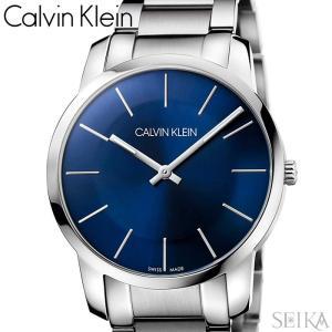 【当店ならお得クーポンあり】【109】カルバンクライン Calvin Klein メンズ 時計【K2G2114N】 ブルー シルバー|ryus-select