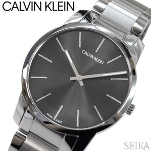 【当店ならお得クーポンあり】【110】カルバンクライン Calvin Klein メンズ 時計【K2G21161】 グレー シルバー|ryus-select