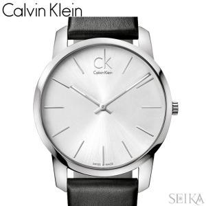 【当店ならお得クーポンあり】【111】カルバンクライン Calvin Klein メンズ 時計【K2G211C6】シルバー ブラック レザー|ryus-select