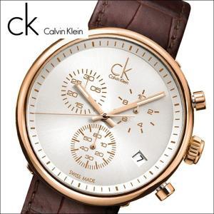 【商品入れ替えクリアランス】(特典付き) (68)カルバンクライン メンズ 腕時計 (K2N286G6) (K2N286.G6) レザー|ryus-select