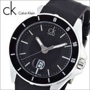 (74)カルバンクライン/Calvin Klein メンズ 腕時計(K2W21XD1)(K2W21X.D1)ブラック×ブラックラバープレイ(PLAY)|ryus-select