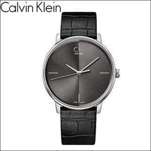 カルバンクライン Calvin Klein アクセントK2Y2Y1C3 (100) 時計 腕時計 レディースグレー ブラック レザー|ryus-select