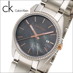 カルバンクライン/Calvin Klein レディース 時計(K5R33B4Y / K5R33B.4Y)(94) シルバー/ブラックシェルアライアンス(ALLIANCE)|ryus-select