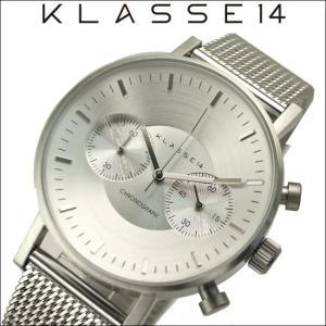 【当店ならお得クーポンあり】 クラス14 KLASSE14 VO15CH002M(11) シルバー時計 メンズ レディース|ryus-select
