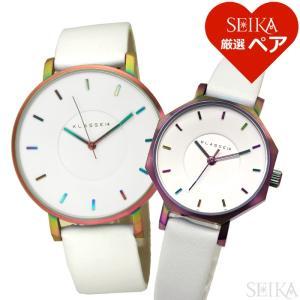 【当店ならお得クーポンあり】 (ペアウォッチ) クラス14 VO16TI003M(40) OK17TI002S(70) メンズ レディース 時計 腕時計 (SEIKA厳選ペア)|ryus-select