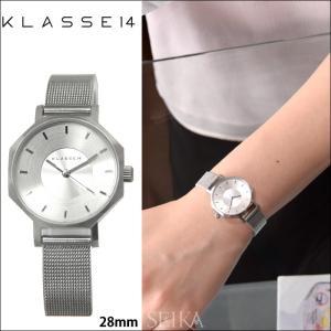 【当店ならお得クーポンあり】クラス14 KLASSE14 オクト ヴォラーレ 時計 腕時計  レディース メッシュ 28mm シルバー OK17SR001S(68)|ryus-select