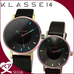 【当店ならお得クーポンあり】ペアウォッチ クラス14 KLASSE14時計 腕時計 メンズ レディースレインボー VO15TI001M(25) VO15TI001W(26)|ryus-select
