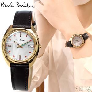 (レビューを書いて5年保証) ポールスミス PAUL SMITH KP7-029-90(28) Closed eyes mini 時計 腕時計 レディース ブラウン レザー ソーラー ryus-select