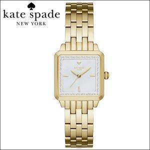 ケイトスペード Kate spade 時計 腕時計 レディース  ゴールド スクエア クリスタル KSW1115|ryus-select