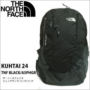 (12) ザ・ノースフェイス リュックサック バックパック (KUHTAI 24 NF0A2ZDL KTO) TNF BLACK ASPHGR ブラック グレーT92ZDL KTO 24L|ryus-select