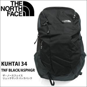 【13】ザ・ノースフェイス リュックサック バックパック【KUHTAI 34 NF0A2ZDM KTO】TNF BLACK ASPHGR ブラック グレーT92ZDM KTO 34L|ryus-select