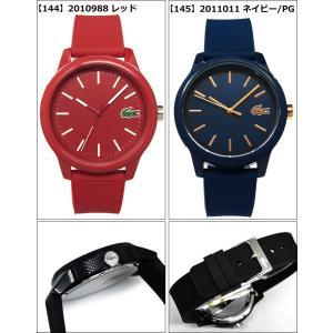 ラコステ LACOSTE L.12.12(140)2010984 (141)2010985 (142)2010986 (143)2010987 (144)2010988 (145)2011011時計 腕時計 メンズ ラバー|ryus-select|03