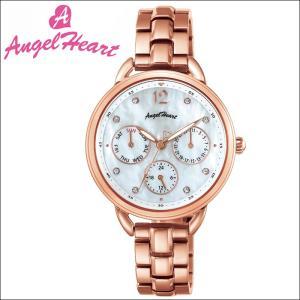 (ショップ袋付)エンジェルハート Angel Heartリトルハート 時計 腕時計 レディースLH33PG ホワイトシェル ピンクゴールド|ryus-select