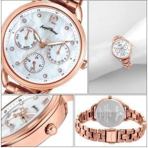 (ショップ袋付)エンジェルハート Angel Heartリトルハート 時計 腕時計 レディースLH33PG ホワイトシェル ピンクゴールド|ryus-select|02