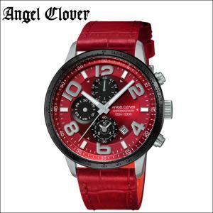 (レビューを書いて5年保証) 時計 エンジェルクローバー Angel Clover ルーチェLU44SRE-RE 腕時計 メンズレッド シルバー レッドレザー 父の日|ryus-select