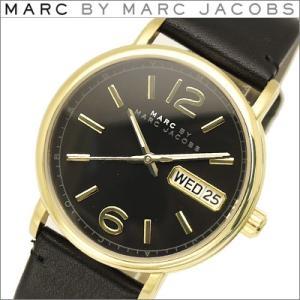 (レビューを書いて5年保証) 時計 マークバイ マークジェイコブス MBM1388 ファーガス メンズ レディース ユニセックスブラック レザー (k-15) 父の日|ryus-select