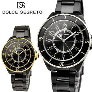 ドルチェ セグレート DOLCE SEGRETO メンズ 時計 (MCH200BK:シルバー×ブラック) (MCH200BK GD:ゴールド×ブラック)|ryus-select