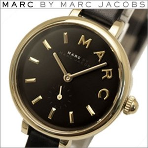 (レビューを書いて5年保証) 時計 マークバイ マークジェイコブス (MJ1423) ブラック×ゴールド 腕時計 レディース|ryus-select