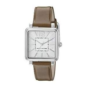 (レビューを書いて5年保証) 時計 マークジェイコブス MARC JACOBS (MJ1436) レディース 腕時計 シルバー ブラウンレザー|ryus-select