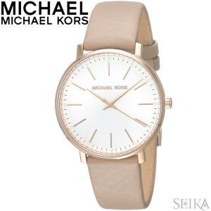 マイケルコース MICHAEL KORS MK2748時計 腕時計 レディース ベージュ レザー|ryus-select