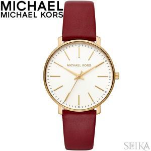 マイケルコース MICHAEL KORS MK2749時計 腕時計 レディース レッド レザー|ryus-select