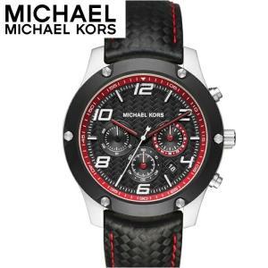 (レビューを書いて5年保証) (サマークリアランス) 時計 マイケルコース MICHAEL KORSMK8475 腕時計 メンズ ブラック レザー (k-15)|ryus-select