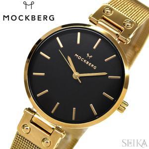 【秋のポイント祭!5〜11倍】モックバーグ MOCKBERG 34mm MO 時計 腕時計 レディース シンプル 薄型 メッシュ|ryus-select