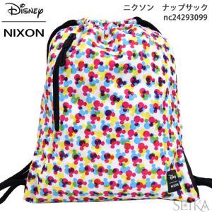 (スプリングクリアランス) NIXON ニクソン リュック ナップサック NC24293099 (13) バック カバン バッグ ディズニー ミッキー|ryus-select