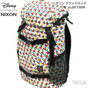NIXON ニクソン リュック バックパック NC28173099(12) バック カバン バッグ ディズニー ミッキー|ryus-select