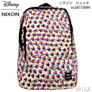 NIXON ニクソン リュック バックパック NC28203099(10) バック カバン バッグ ディズニー ミッキー|ryus-select