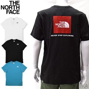 ザ ノースフェイス Tシャツ 半袖 NF0A2TX2 (T92TX2) ホワイト ブラック メンズ ロゴ Tシャツ アパレル (CPT)|ryus-select