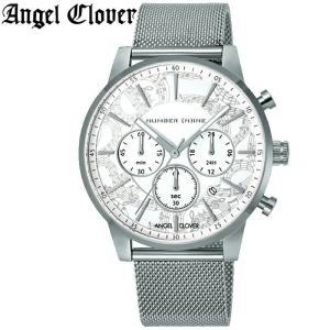 (レビューを書いて5年保証) (スプリングクリアランス) 時計 エンジェルクローバー NNC42SWH 腕時計 メンズ シルバー メッシュベルト 父の日|ryus-select