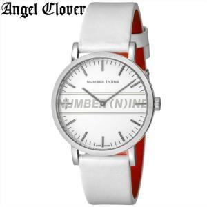 (レビューを書いて5年保証) (スプリングクリアランス) 時計 エンジェルクローバー NNR40SSV-WH 腕時計 メンズ ホワイト 父の日|ryus-select