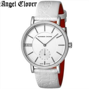 (レビューを書いて5年保証) (スプリングクリアランス) 時計 エンジェルクローバー NNS40SSV-WH 腕時計 メンズ ホワイト 父の日|ryus-select