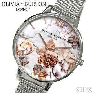 オリビアバートン 時計 OB16CS10(31) メッシュ 花柄 フラワー シルバー 腕時計 レディース(商品入れ替え)|ryus-select