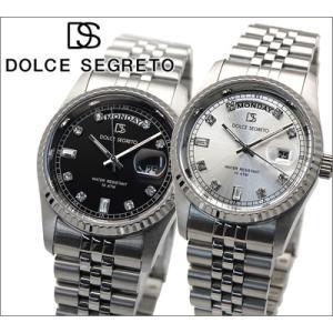 時計 ドルチェセグレート DOLCE SEGRETO メンズ 腕時計 OP300BK OP300SV|ryus-select