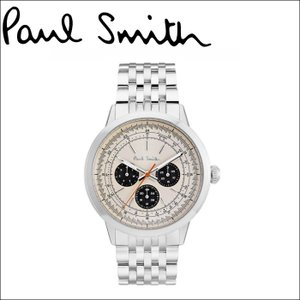 ポールスミス/PAUL SMITH 腕時計(P10003)ライトベージュ×シルバー|ryus-select