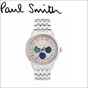 ポールスミス/PAUL SMITH 腕時計(P10004)ライトベージュ×シルバー|ryus-select